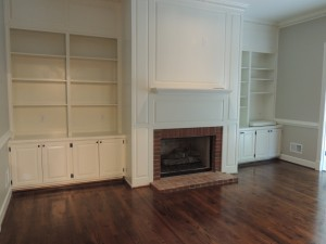 Colonial Living Room After
